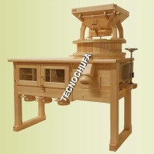 COMMERCIAL STONE MILL WITH SIEVE MT400