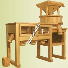COMMERCIAL STONE MILL WITH SIEVE MT500
